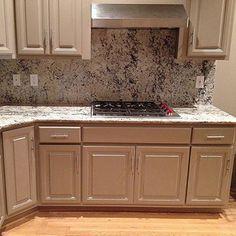 Photo: Granite Tops & Backsplash