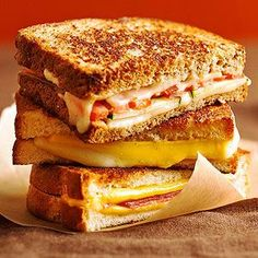 Grilled Cheese Sandwiches From Better Homes and Gardens, ideas and improvement projects for your home and garden plus recipes and entertaining ideas.