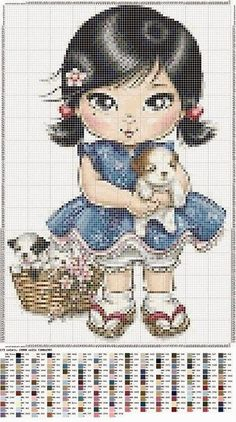 "Photo from album ""Infants - инфанты"" on Yandex. Cute Cross Stitch, Cross Stitch Designs, Cross Stitch Patterns, Easy Sewing Projects, Sewing Projects For Beginners, Pinterest Diy Crafts, Cross Stitch Christmas Stockings, Hello Kitty, Diy Baby Headbands"