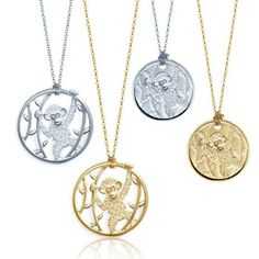 new york city–based designer alex woo recently teamed up with disney to make two eco-friendly chimpanzee charms for earth day Disney Necklace, Disney Jewelry, Kids Jewelry, New Disney Movies, Jane Goodall, Chimpanzee, Elements Of Design, Fashion Jewelry, Pendants