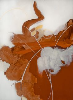 """""""Froth"""" by April Hankins  2009-12  Acrylic on canvas  28"""" x 20"""""""