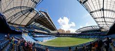"Did a stadium tour at the stadium of the Chealsea FC called Stamford Bridge. Fans often just call the stadium ""The bridge"".    en.wikipedia.org/wiki/Stamford_Bridge_%28stadium%29     #Champions"