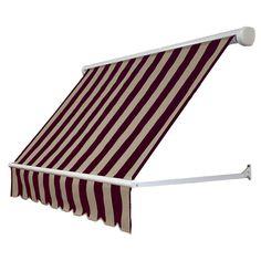 NuImage Awnings 3 ft. 3700 Series Fabric Window Awning (23 ...