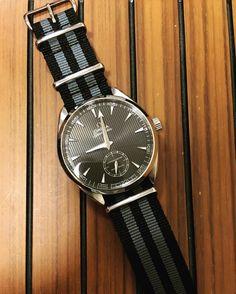 New NATO strap for my watch #omega #seamaster #aquaterra #xxl #luxury #watch #swissmade #instawatch #luxurylife #luxurywatch #jewellery #watchstrap #watchporn #wristwatch #natostrap #nato by richbloice #omega #seamaster #watchesformen