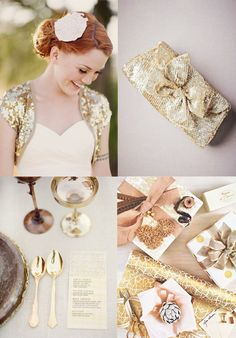 A golden #wedding