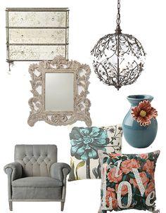 All of these pieces have character and charm. Has a nice vintage feel.  @jadeandcoco.com