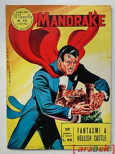 MANDRAKE 72 Albi de il Vascello prima serie FRATELLI SPADA 1964 Vintage Comics, Vintage Posters, Indrajal Comics, Vintage Cowgirl, Isaac Asimov, Tv Guide, Childhood Toys, Comic Book Characters, The Magicians