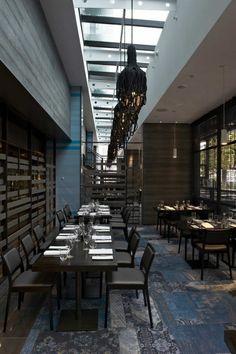 The Atlantic Restaurant / Blackmilk Interior Design BELLE AMBIANCE   J adore le tpis au sol