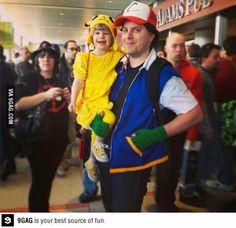 great parent child costume idea