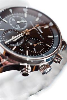Financial space clock at Sinn Spezialuhren Frankfurt Dream Watches, Cool Watches, Sinn Watch, Rolex, Herren Chronograph, Luxury Watches For Men, Beautiful Watches, Breitling, Omega