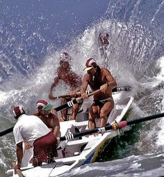 Lifesavers in action on the beaches - Sunshine Coast - Australia