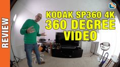 Kodak PixPro SP360 4K - 360 Degree Video Test