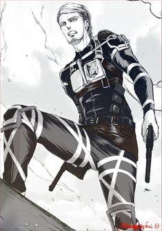 Attack On Titan Jean, Attack On Titan Fanart, I Love You Drawings, Yuri, Horse Face, Titans Anime, Anime Manga, Captain Levi, Indie Art
