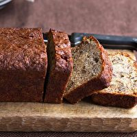 Ultimate Banana Bread by TasteBook.com--I love a 'breakfast' bread to grab as I run through the kitchen on my way out the door for my commute to work. This one sounds like a good choice.