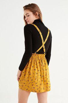 UO Blossom Suspender Skirt