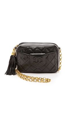 a16fd091b What Goes Around Comes Around Chanel Camera Bag with Tassel Chanel Purse, Chanel  Handbags,