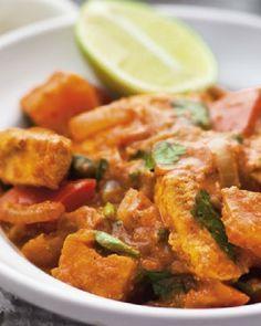Low FODMAP Low Fat Chicken Curry http://www.ibssano.com/low_fodmap_recipe_chicken_curry.html