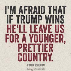 Funniest Donald Trump Memes: Donald Trump Leaving Us