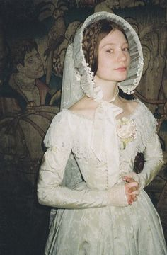 Mia Wasikowska as Jane Eyre. Costumes by Michael O'Connor...have loved this story most of my life.