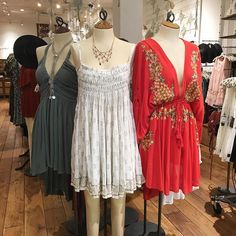 Boho summers + statement necklaces @freepeople  #embroidery #minidress #summerdress #dress #dresses #laceup #vintage #freepeople  @pixxyapp