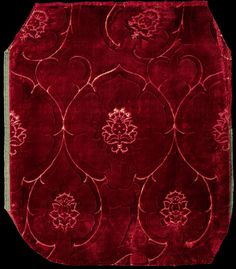 2nd half of 15th century - italian - Velvet | V Search the Collections
