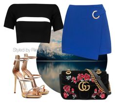 """Untitled #207"" by marielaanyane on Polyvore featuring T By Alexander Wang, Giuseppe Zanotti and Gucci"