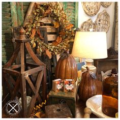 Vignettes, Rust, Autumn, Display, Canning, Shop, Home Decor, Floor Space, Decoration Home