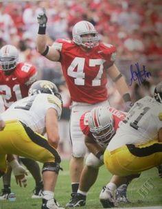 AJ Hawk Autographed 16x20 Photo #SportsMemorabilia #OhioStateBuckeyes