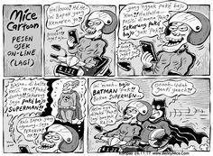 MICE CARTOON - PESEN OJEK ONLINE (LAGI) - Karya: Muhammad Misrad - Sumber: Kompas Minggu - 26 November 2017 (KLIK gambar untuk memperbesar) 26 November, Peanuts Comics, Batman, Ads, Cartoon, Manga, Anime, Humor, Manga Anime