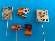 Espana FIFA World CUP 1982 Football Championship Soccer Pins