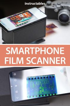 Build a smartphone film scanner using cardboard and an old flashlight. It's a convenient and easy way to digitalize and scan your old film negatives using just a smartphone and some office supplies. Mobile Film, Learn Robotics, Simple Circuit, Office Organization At Work, Cubicle Makeover, Diy Cardboard, Lomography, 35mm Film, Electronics Gadgets
