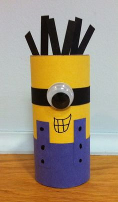 TP Roll Minion. Library Craft.