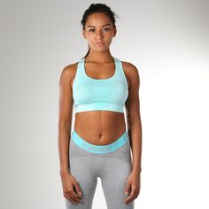 Gymshark Seamless Sports Bra - Mint Green   The Gymshark Seamless Sports Bra combines sports bra essentials with our comfortable and classic Seamless knit. Shop now > https://gymshark.com/products/gymshark-seamless-sports-bra-mint-green