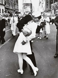 Kissing the War Goodbye. I have this hanging up in my room!