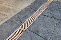 Ground Gutter System for around foundation to draw water away from basement walls