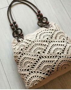 Marvelous Crochet A Shell Stitch Purse Bag Ideas. Wonderful Crochet A Shell Stitch Purse Bag Ideas. Crochet Shell Stitch, Crochet Tote, Crochet Handbags, Crochet Purses, Crochet Stitches, Free Crochet, Knit Crochet, Crochet Patterns, Tunisian Crochet