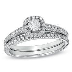 {$999.99} Diamond Frame Bridal Set