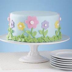 Garden of Delight Cake - fun and easy spring cake