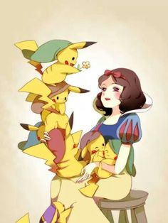 Disney pokemon crossover x