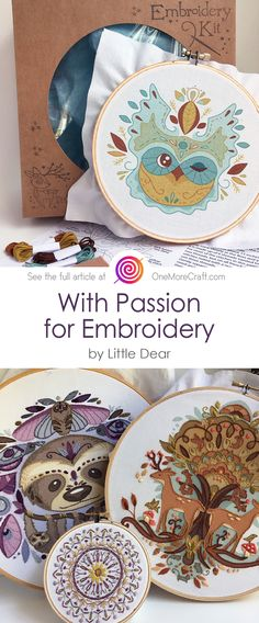 In case you love cute handmade toys and are looking for sewing and embroidery DIYs, you will definitely like this post. Get ready for more! 😊