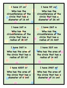 circumference lesson