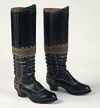 czech bride's boots
