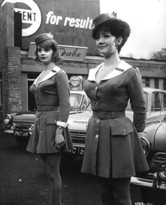 Amanda Barrie & Carole Shelley - 'Carry On Cabby' - 1963 Classic Actresses, British Actresses, Actors & Actresses, British Actors, Amanda, British Comedy, Cecile, Glamour, Mademoiselle