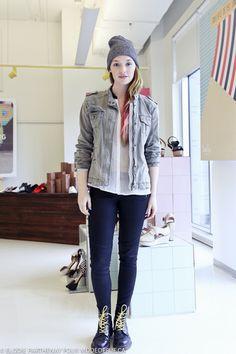 Street style à Montréal: la blouse transparente de Sophie BT   Blogue mode de rue