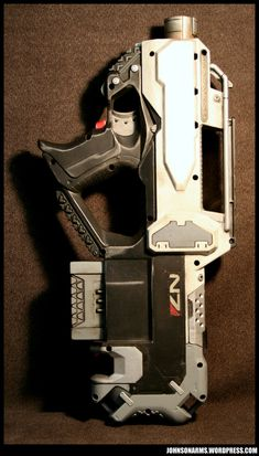 Mass Effect Nerf Rayven 1 by *JohnsonArms on deviantART