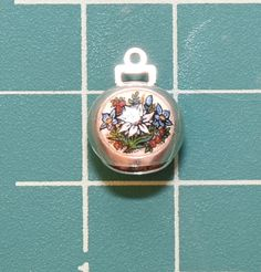 Vintage Silver and Enamel Austria Travel Bell Shield Crest Coat of Arms Charm Austria Travel, Coat Of Arms, Vintage Silver, Pocket Watch, Christmas Bulbs, Charms, Enamel, Holiday Decor, Accessories