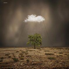 Surreal Photography  Focus sur le travail de Hossein Zare qui nous propose des clichés surréalistes très réussis. L'utilisation de certains logiciels tels que Photoshop pour la manipulation photographique lui permet de créer des mondes et des lieux surréalistes.