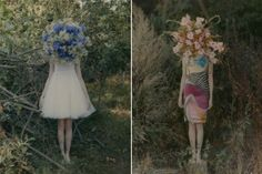 flamboyant but with a really interesting stillness, photos by German photographer,Amira Fritz