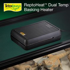Do you know the proper temperature for your pet's health? The Tetrafauna® ReptoHeat Dual Temp Basking Heater does! This basking heater ensures your pets have the best basking heat for their needs.