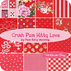 Crush Pam Kitty Love Fat Quarter Bundle Pam Kitty Morning for Lakehouse Dry Goods - Fat Quarter Shop